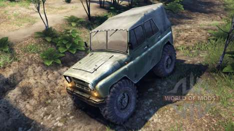 УАЗ-469 Monster Truck for Spin Tires