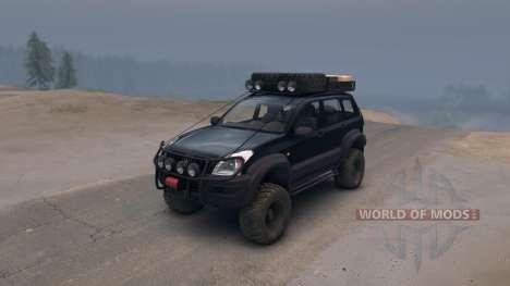 Toyota Land Cruiser Prado Extreme v.3.0 for Spin Tires