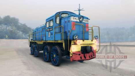 Locomotive TGM for Spin Tires
