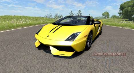 Lamborghini Gallardo LP570-4 Spyder v1.1 for BeamNG Drive