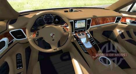 Porsche Panamera for BeamNG Drive