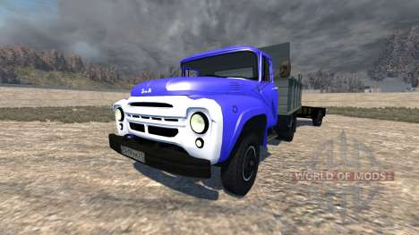 ZIL-130-trailer for BeamNG Drive