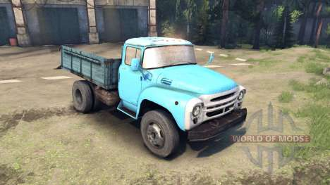 Net ZIL-130 for Spin Tires