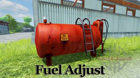 Fuel Adjust for Farming Simulator 2013