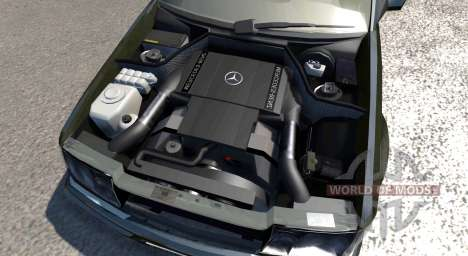 Mercedes-Benz E500 W124 for BeamNG Drive