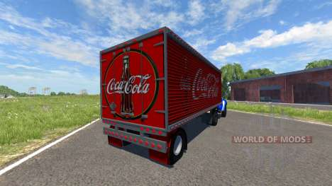 ZIL-V with semi Coca-Cola for BeamNG Drive