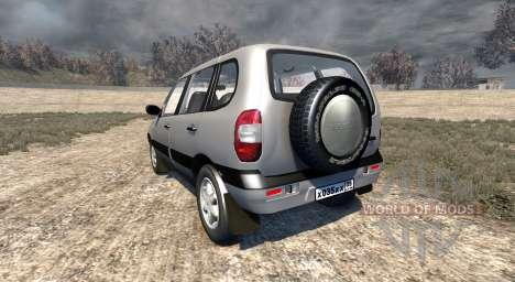 ВАЗ-21236 Chevrolet Niva for BeamNG Drive