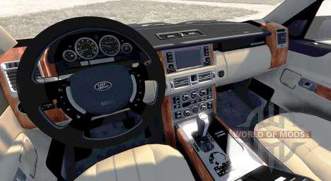 Range Rover Supercharged 2008 [Blue] for BeamNG Drive