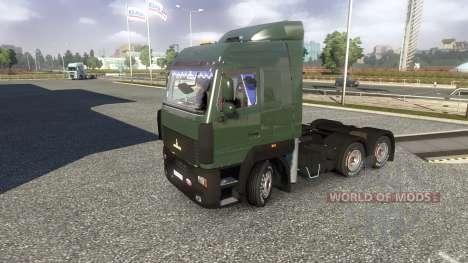 MAZ-5440 A5 for Euro Truck Simulator 2