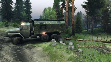 Physics of trees v1.1 for Spin Tires