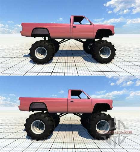 Gavril D-Series Monster Truck v2 for BeamNG Drive
