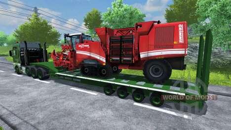Semi-trailer MAN TGA for Farming Simulator 2013