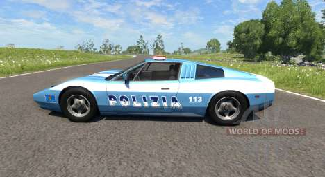 Civetta Bolide Police Interceptor for BeamNG Drive