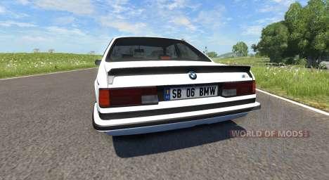 BMW E24 M6 for BeamNG Drive