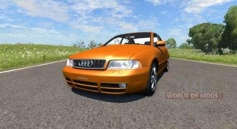 Audi S4 2000 [Pantone 718 C] for BeamNG Drive