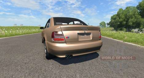 Audi S4 2000 [Pantone 876 C] for BeamNG Drive