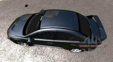 Mitsubishi Lancer Evolution X for BeamNG Drive