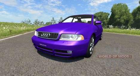 Audi S4 2000 [Pantone Violet C] for BeamNG Drive