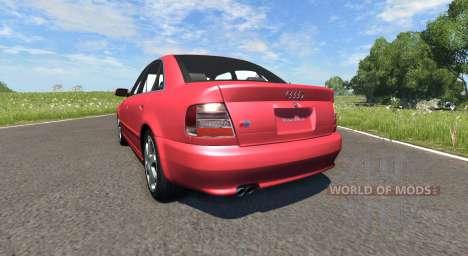 Audi S4 2000 [Pantone Red 032 C] for BeamNG Drive