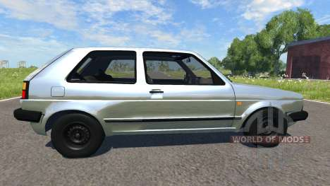 Volkswagen Golf Mk2 GTI 1987 for BeamNG Drive