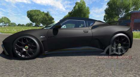 Lotus Evora GTE 2011 [Black] for BeamNG Drive