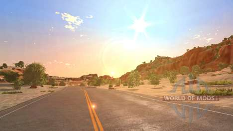 Location Canyon for BeamNG Drive