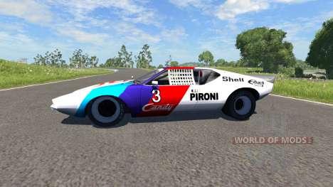 De Tomaso Pantera 1972 for BeamNG Drive