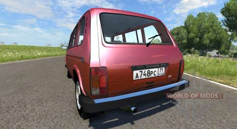 VAZ Niva 2131 for BeamNG Drive