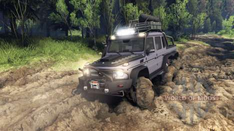 Mercedes-Benz G65 AMG 6x6 Ultimate for Spin Tires