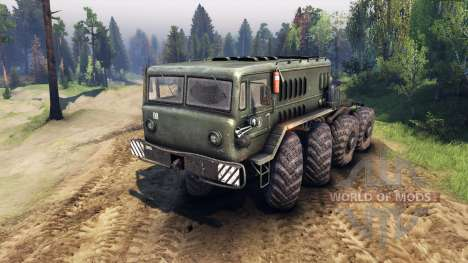 MAZ-535 v1.1 for Spin Tires