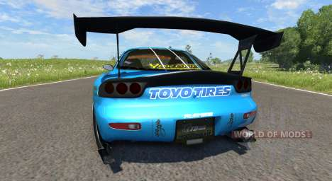 Mazda RX-7 Drift GReddy for BeamNG Drive