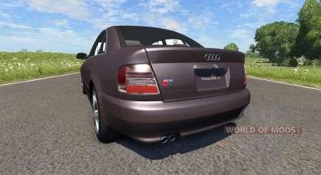 Audi S4 2000 [Pantone Black 5 C] for BeamNG Drive