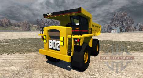 Dumper Minero for BeamNG Drive