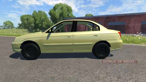 Hyundai Elantra for BeamNG Drive