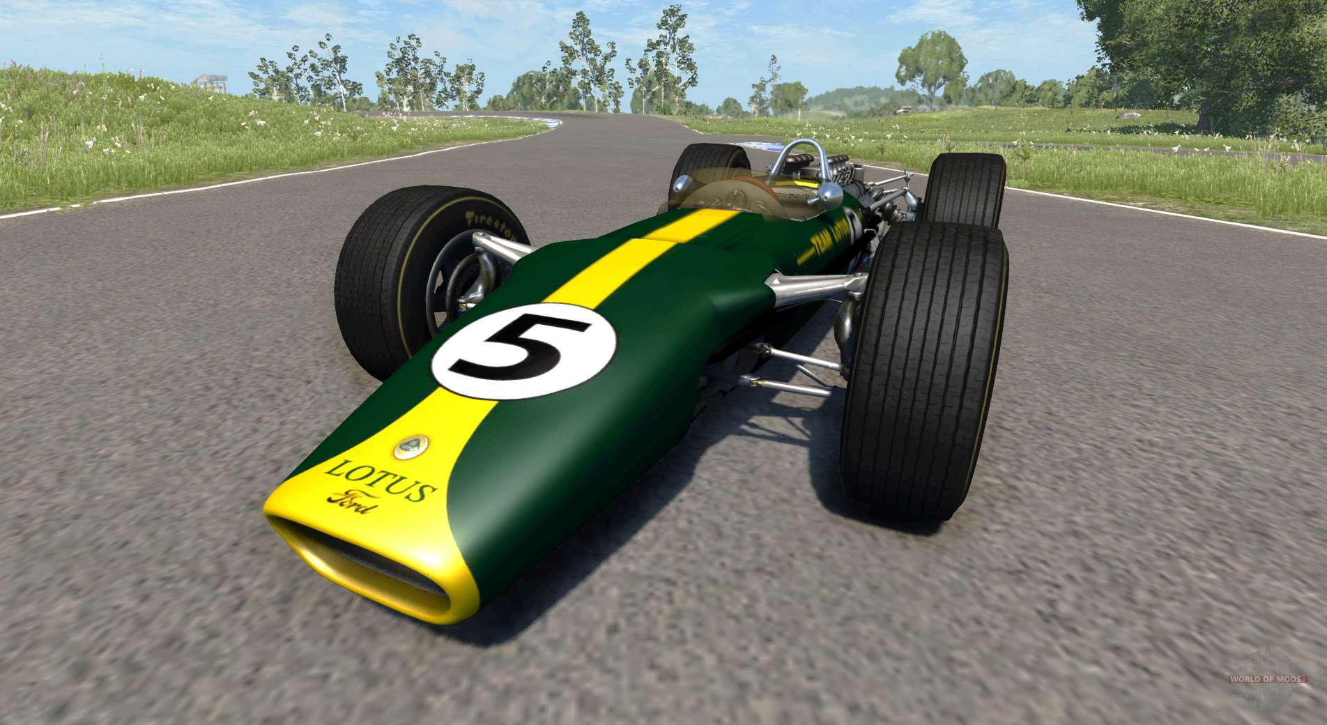 Lotus Type 49 1967 For Beamng Drive