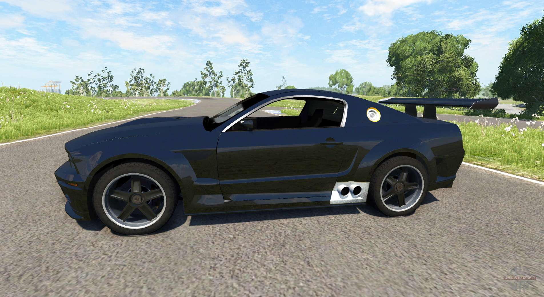 Ford Mustang Gt R Concept For Beamng Drive
