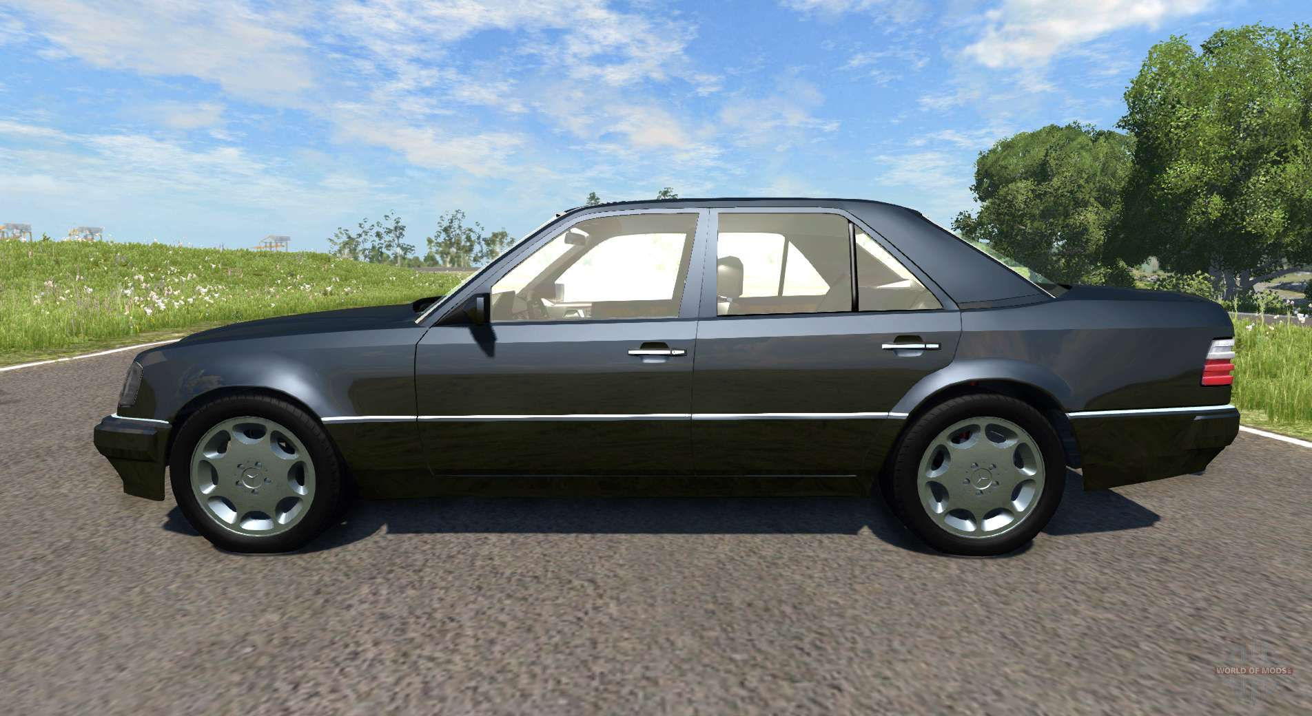 mercedes benz e500 w124 for beamng drive. Black Bedroom Furniture Sets. Home Design Ideas