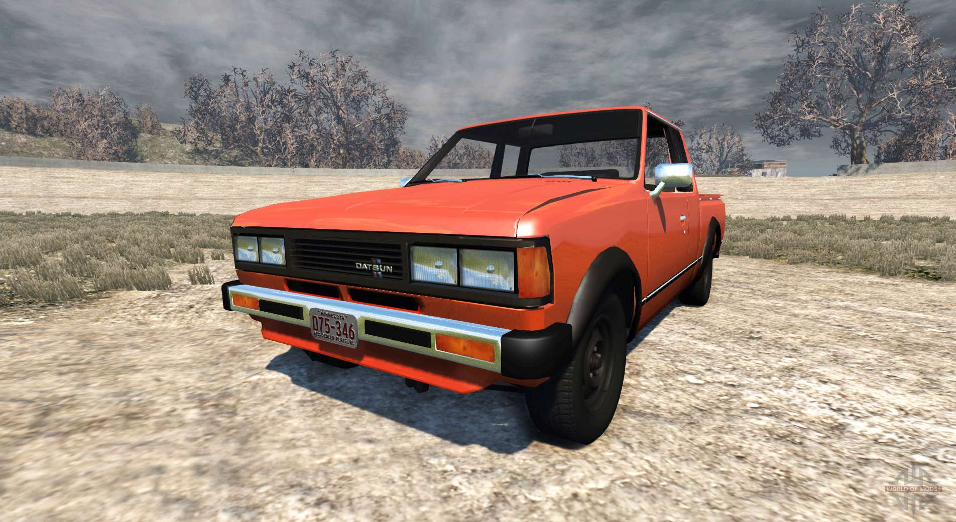 Datsun 720 1981 King Cab For Beamng Drive