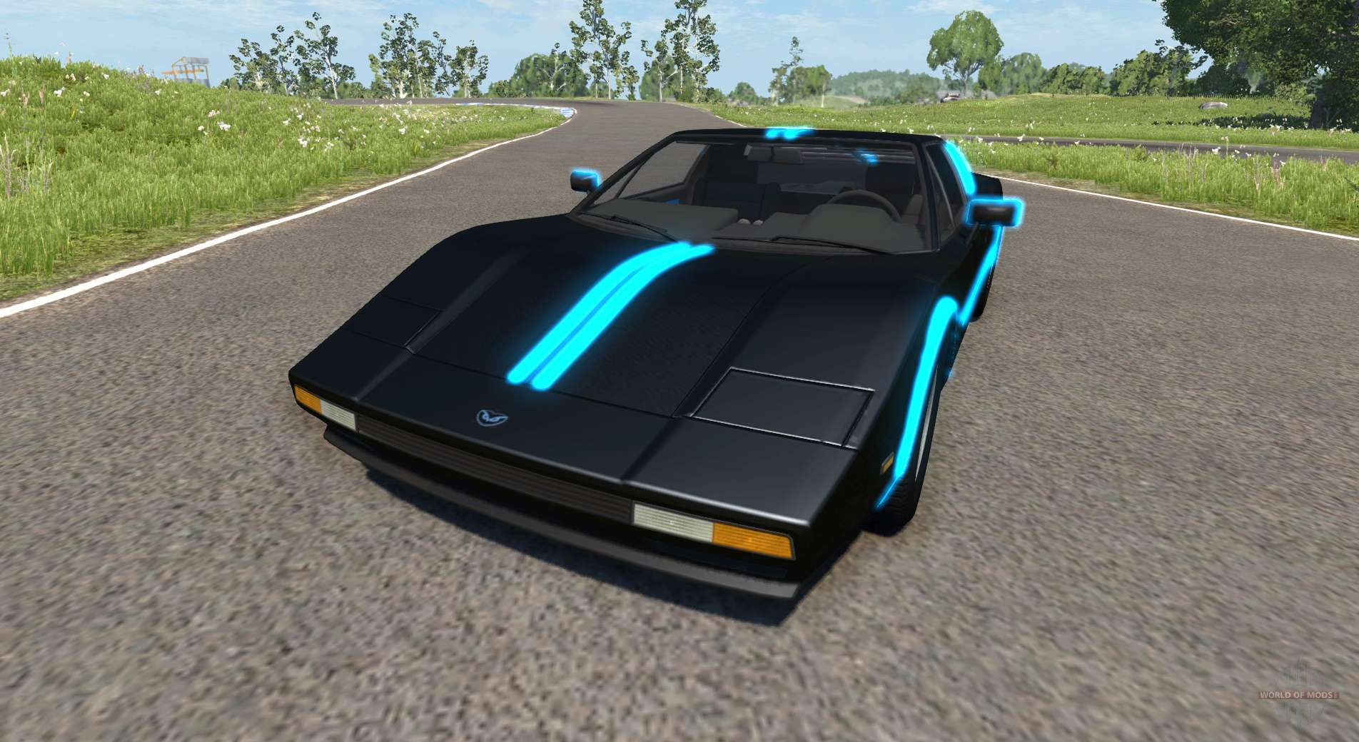 civetta bolide tron for beamng drive. Black Bedroom Furniture Sets. Home Design Ideas