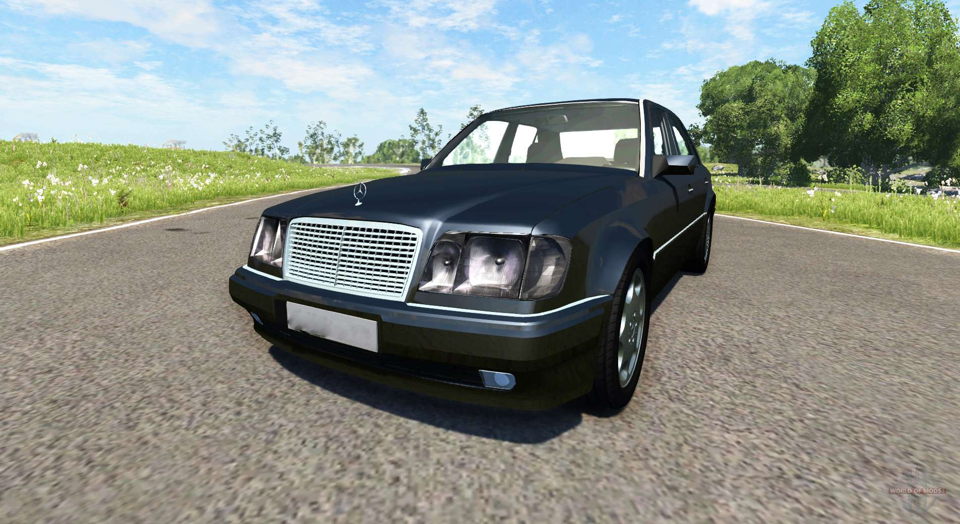 Mercedes Benz E500 W124 For Beamng Drive