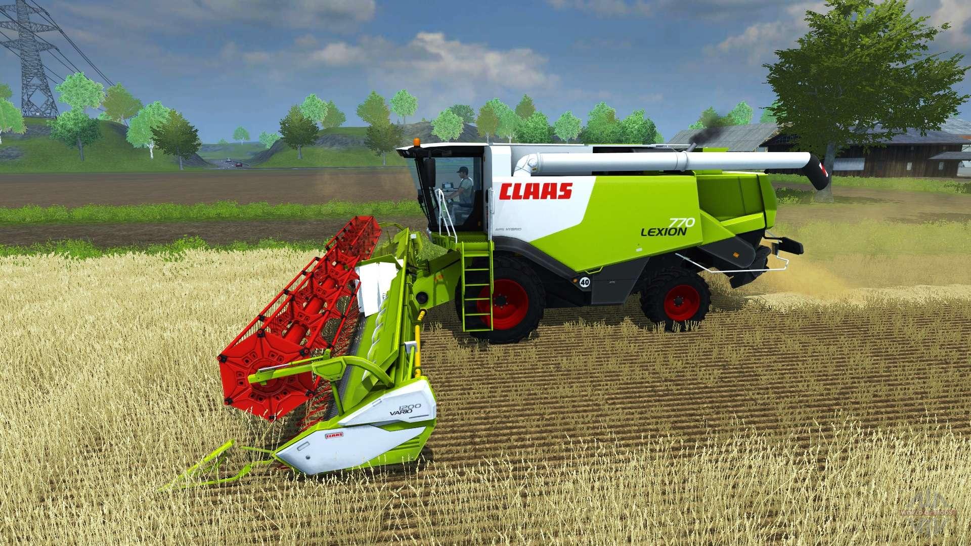 claas lexion 770 for farming simulator 2013 rh worldofmods com Lexion 720 Lexion 760 Combine Spec