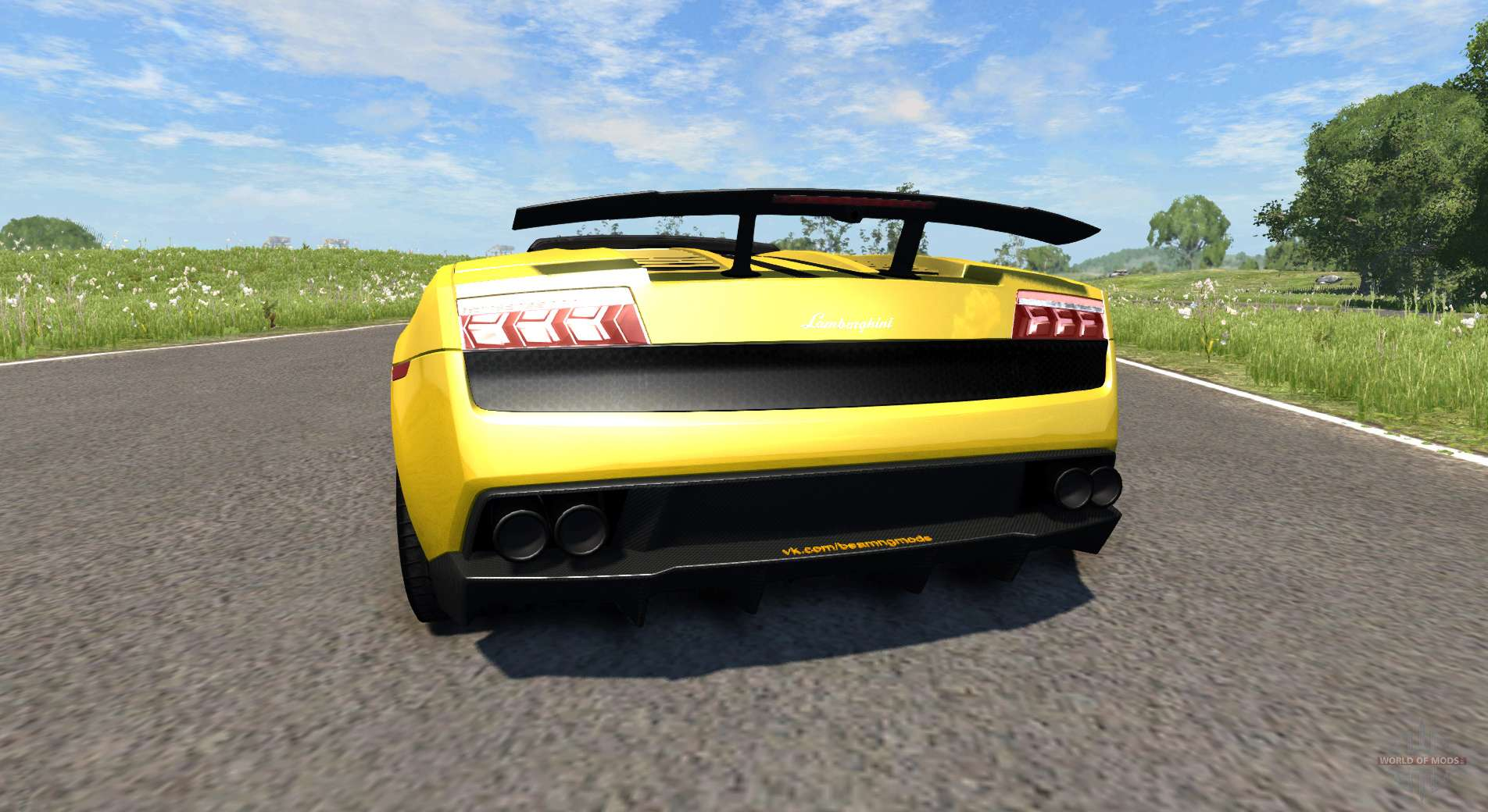 Lamborghini Gallardo Lp570 4 Spyder V1 1 For Beamng Drive