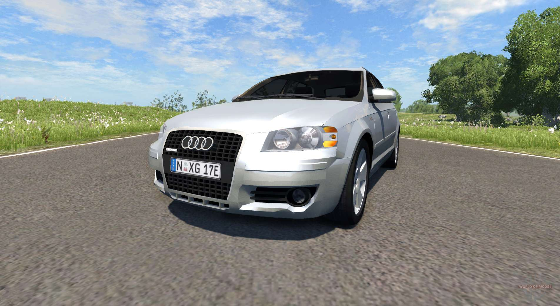 Audi A3 For Beamng Drive