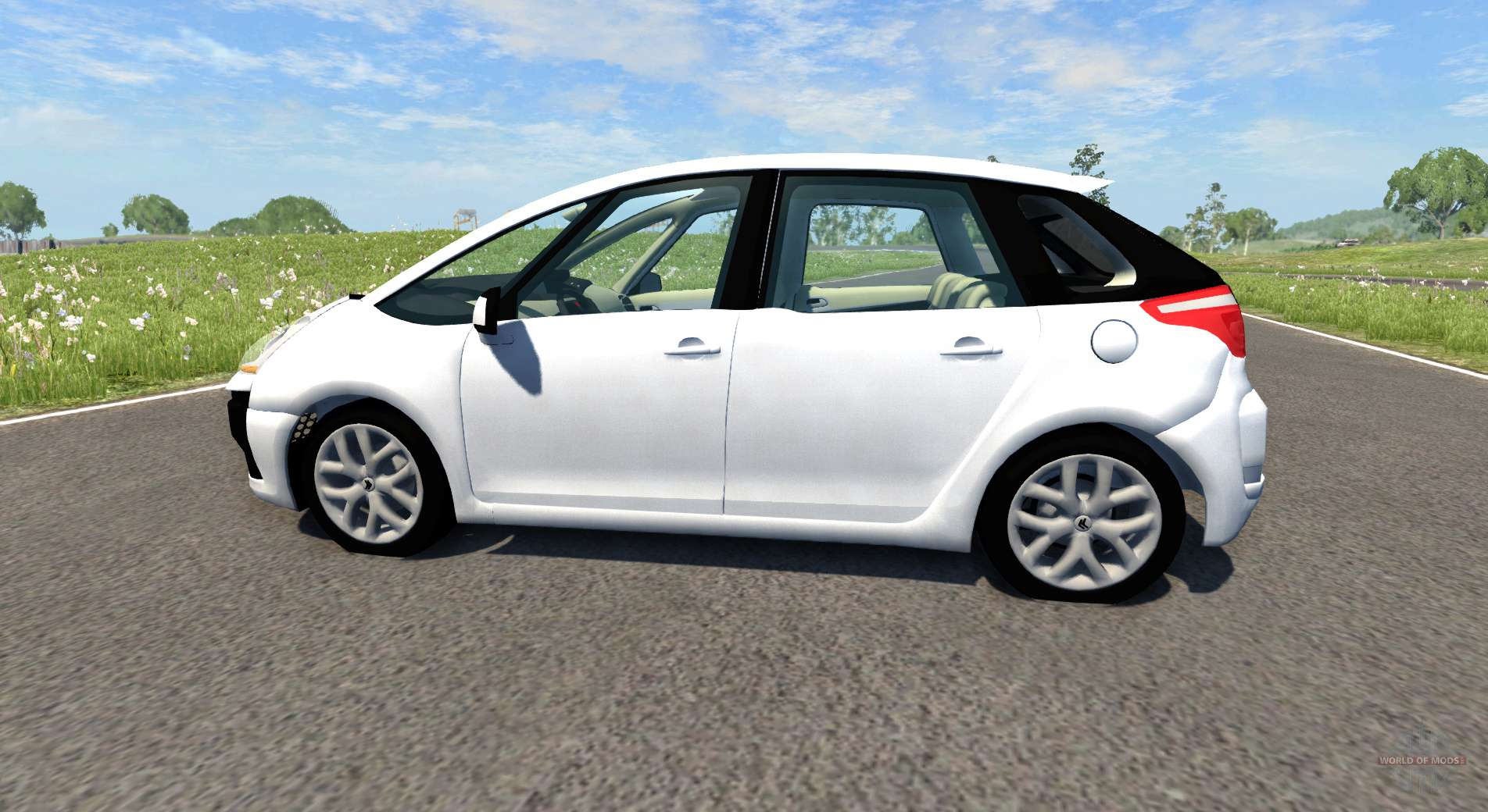 citroen c4 picasso for beamng drive. Black Bedroom Furniture Sets. Home Design Ideas
