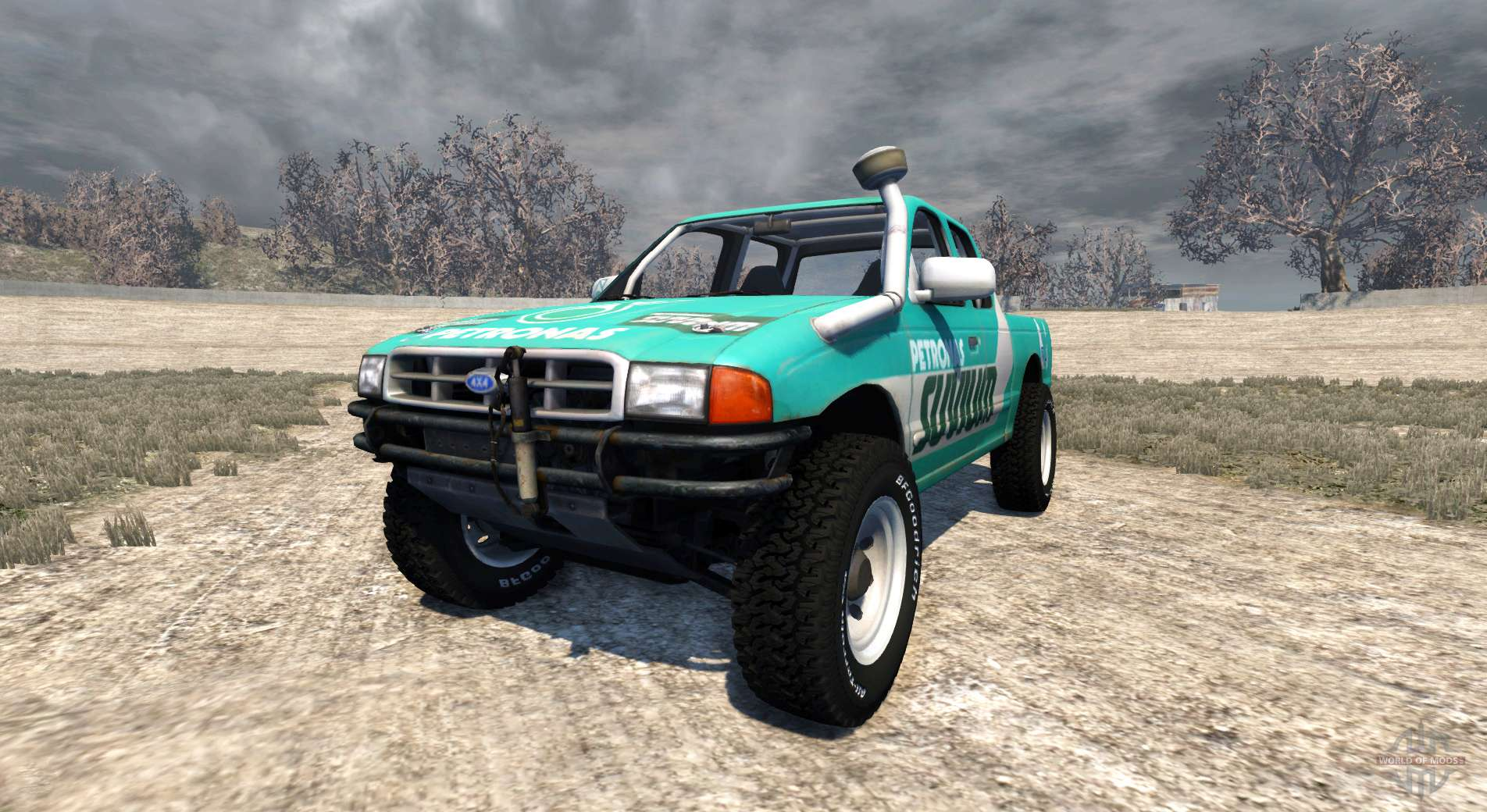Ford Ranger For Beamng Drive