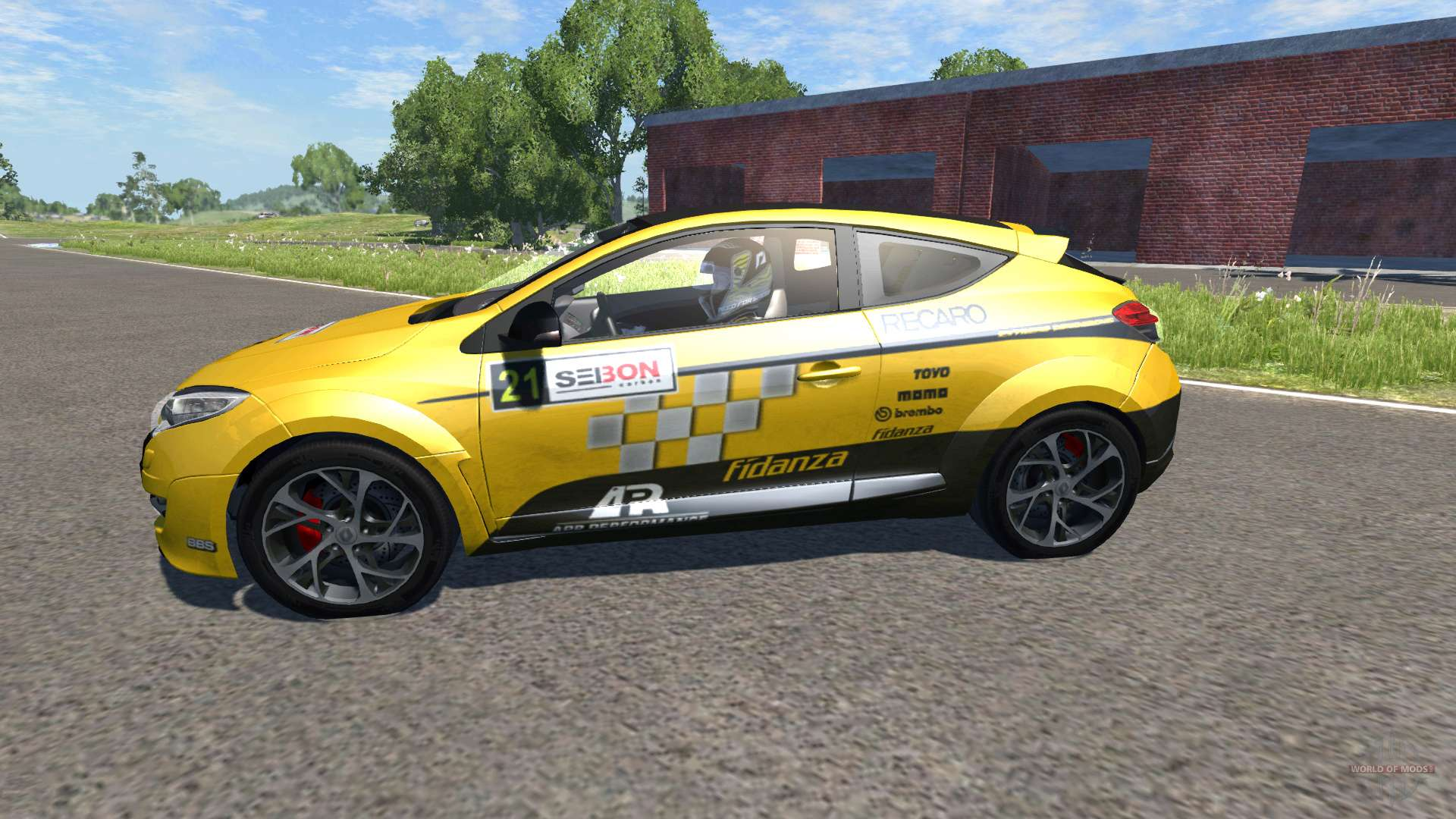 renault megane rs for beamng drive. Black Bedroom Furniture Sets. Home Design Ideas