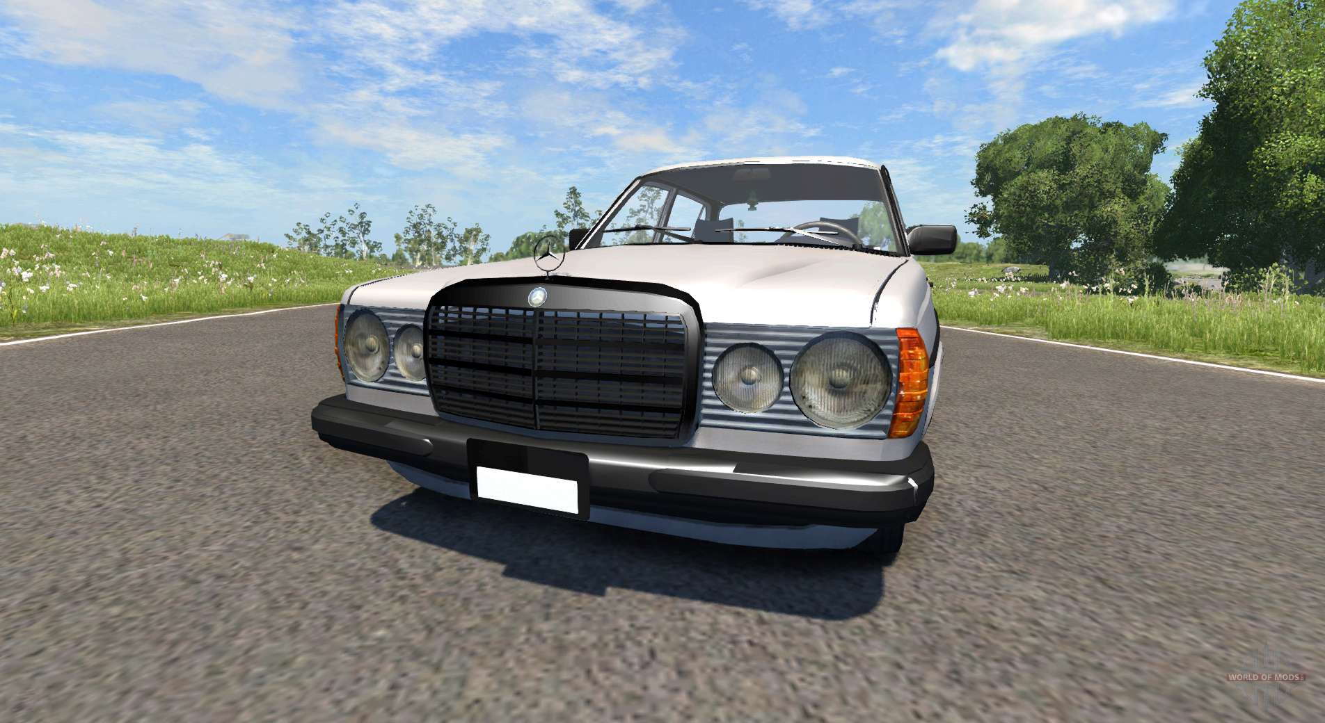 Mercedes benz 230 w123 for beamng drive for Mercedes benz w
