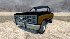 Chevrolet Silverado 1500 1986 for BeamNG Drive