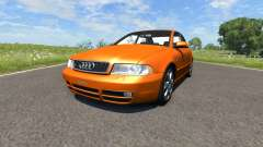 Audi S4 2000 [Pantone Orange 021 C] for BeamNG Drive
