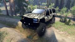 Chevrolet Suburban 1998 for Spin Tires